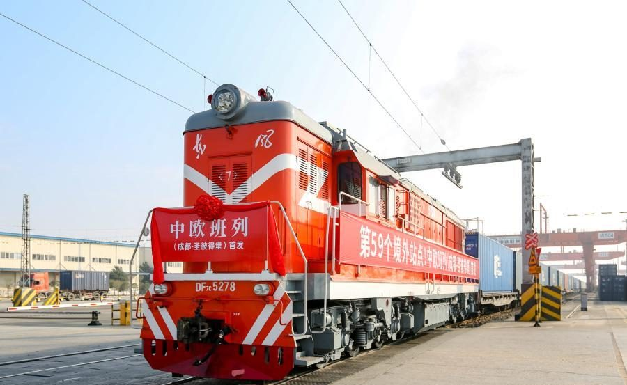 Chengdu to St. Petersburg, new China-Europe freight train route launched