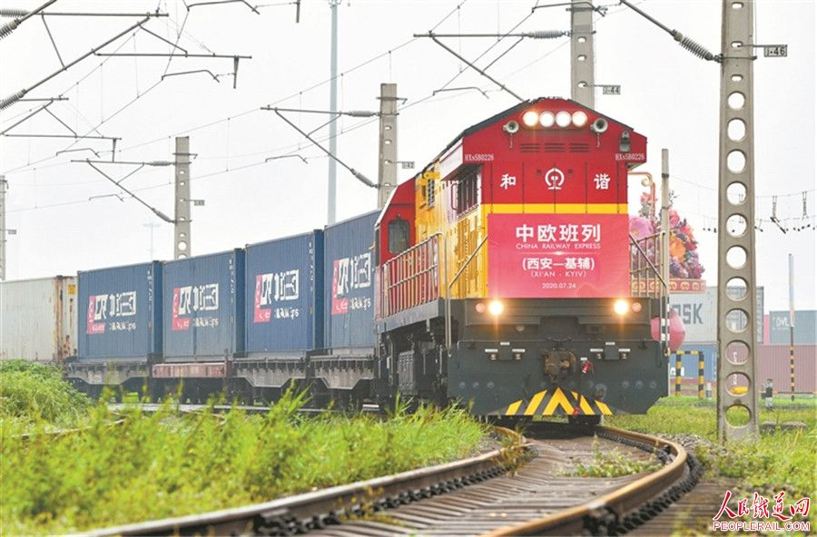 14 cargo trains from China passed across Ukraine in January