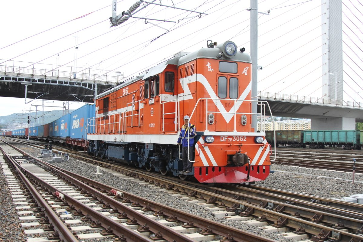 The land ports in Northeast China bustling with China-Europe freight trains