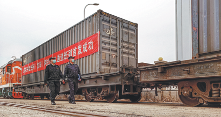 Shenyang, China has optimized its land transport network and ensured that its customs clearance
