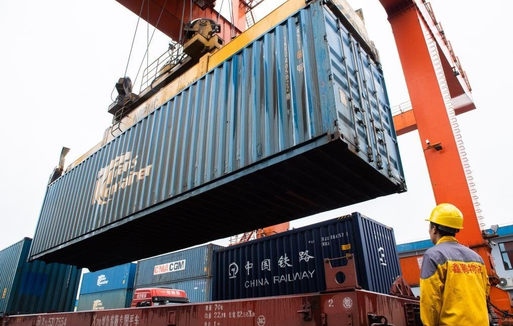The current shortage of containers in China has eased