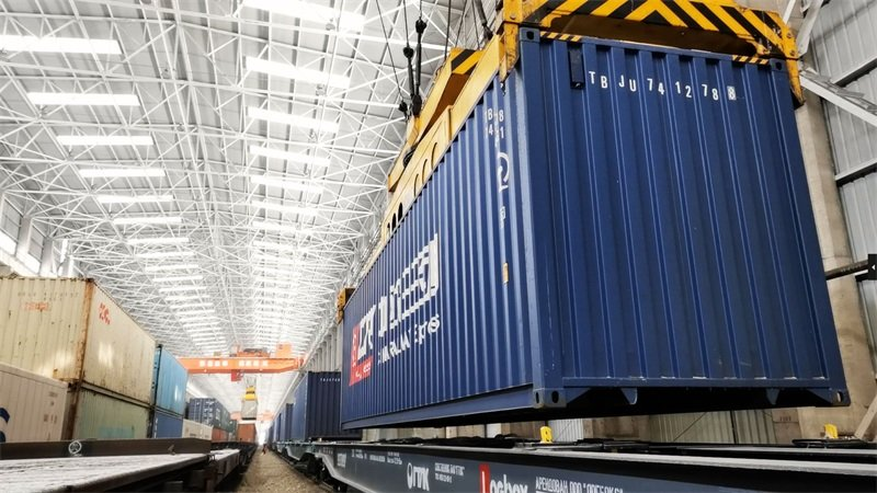 Alataw Pass sees robust rise in China-Europe freight train trips