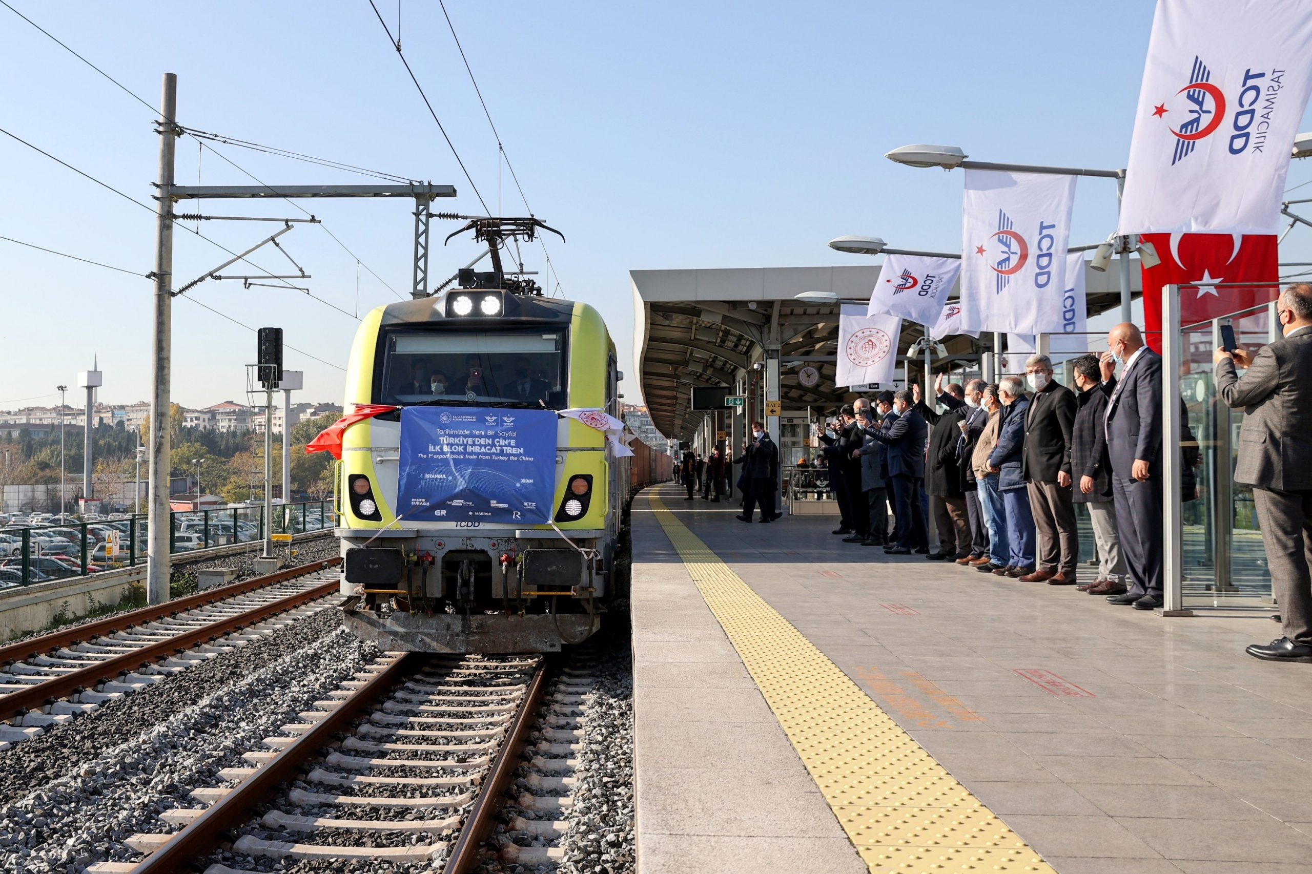 845 freight trains pass Istanbul's Europe-to-Asia subsea tunnel