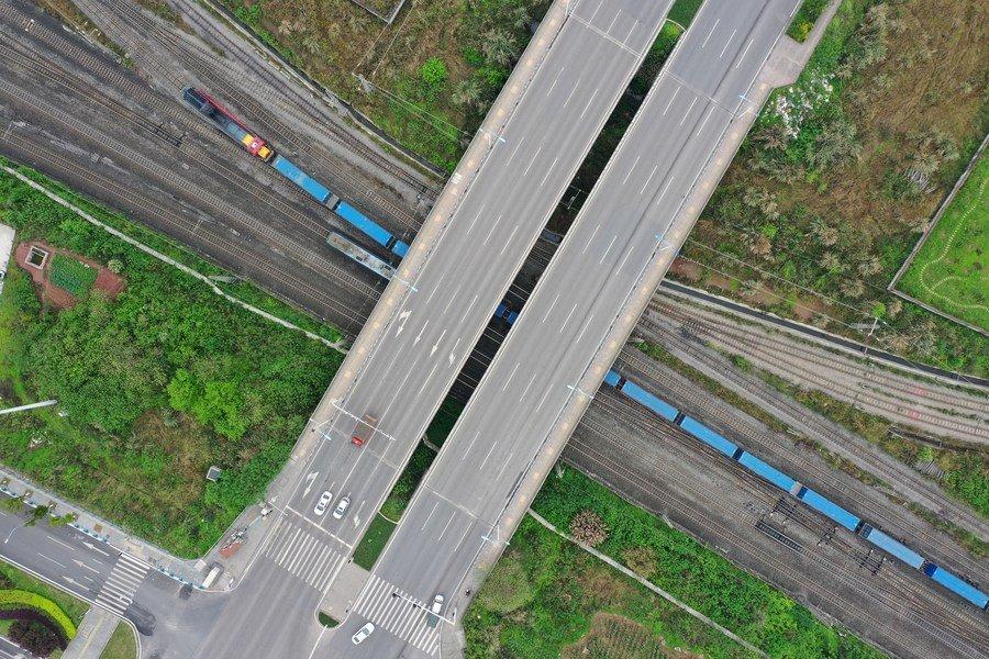 New China-Europe freight train route links China's Chongqing with Ukraine