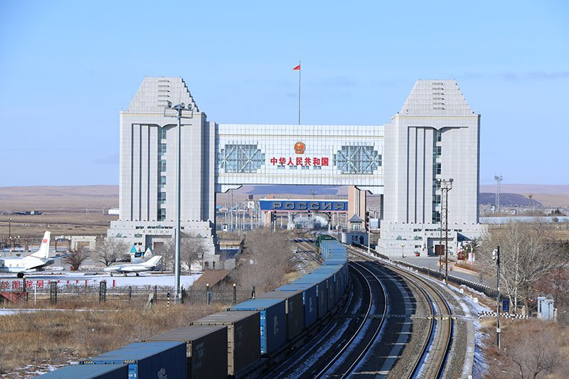 In the first eight months, 3037 China-Europe freight trains were operated at Manzhouli and Suifenhe ports