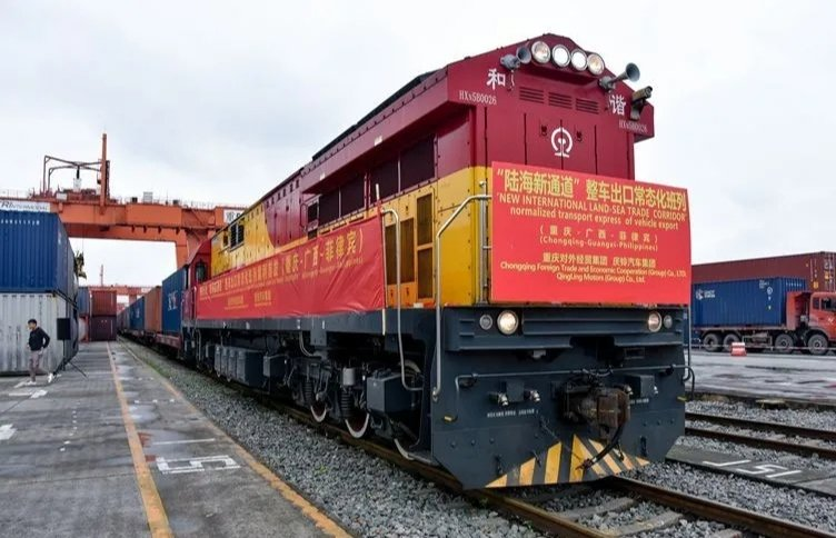 Land-sea freight transport from China's Chongqing surges in 2021